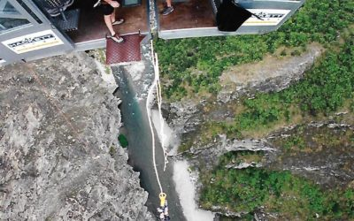 Bungy jumping to freedom!